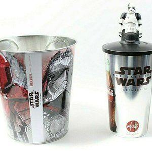 Star Wars Popcorn Bucket And Drink